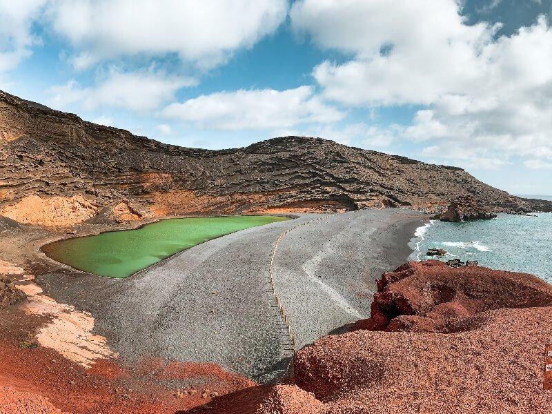 Lanzarote cosa vedere_laguna verde