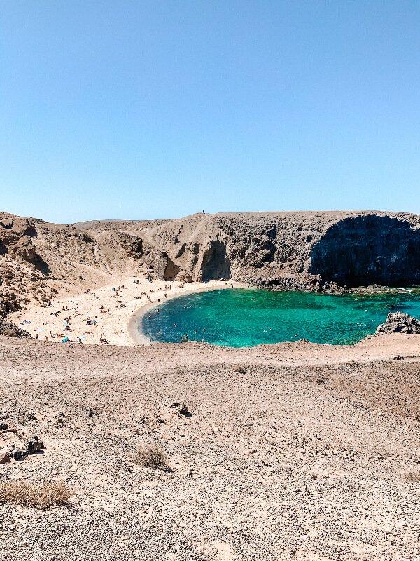 Lanzarote cosa vedere_Playa Papagayo