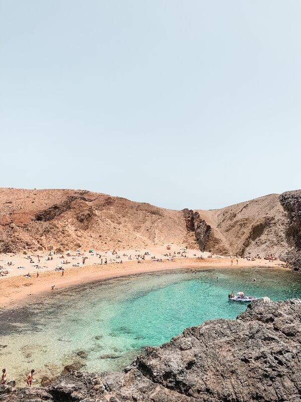 spiagge più belle di Lanzarote_Playa Papagayo