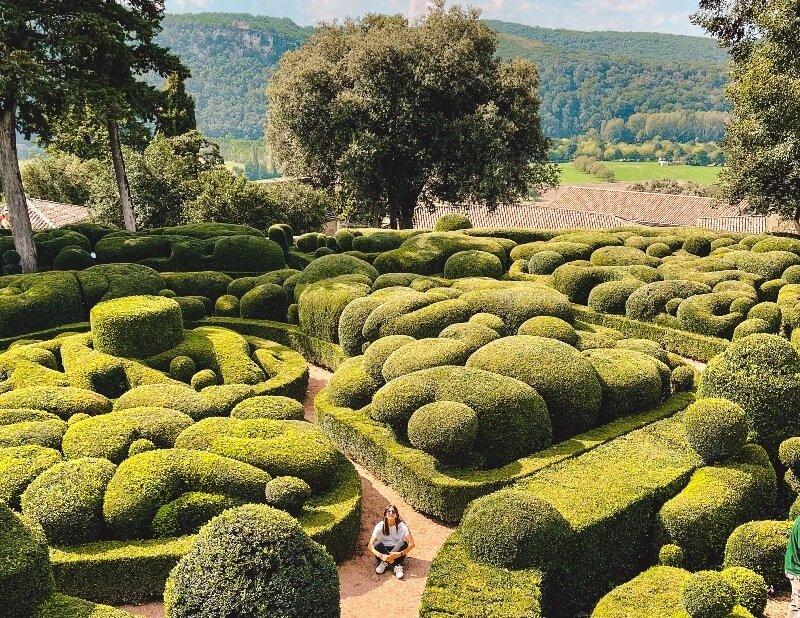 Dordogne perigord giardini marqueyssac